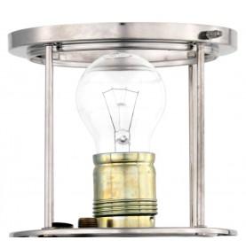 AMPOULE LAMPE TEMPÊTE ELECTRIQUE PETROMAX LAITON CHROME