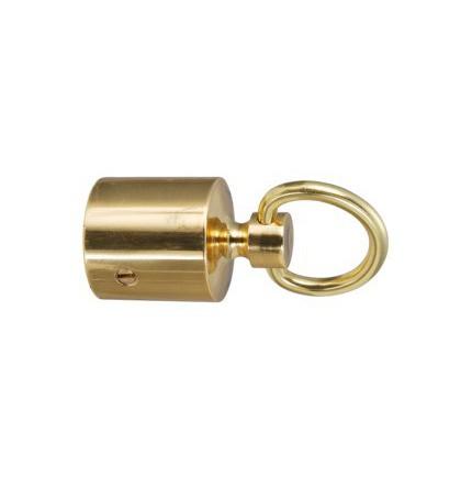 Embout à anneau pour barrière en laiton