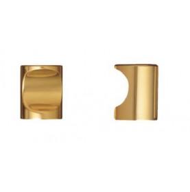 Bouton cylindrique à encoche en laiton