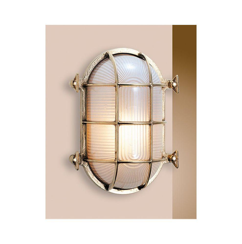Lampe marine laiton ovale de forme tortue