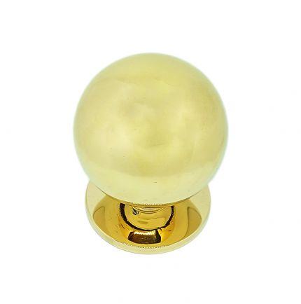 Pommeau de porte boule 70mm en laiton
