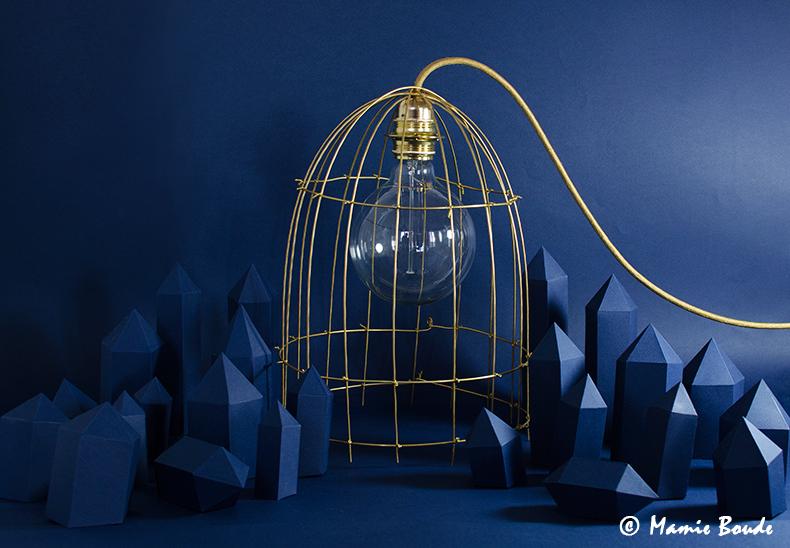 DIY d'une lampe cage en laiton