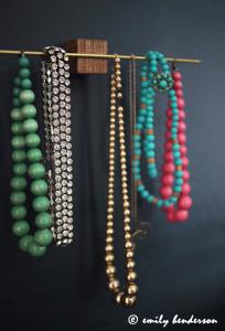 Porte-bijoux en laiton
