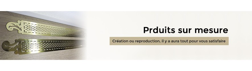 Réalisation de produits en laiton ou en bronze sur mesure