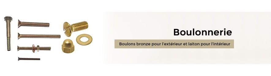 Visserie à métaux en bronze et laiton