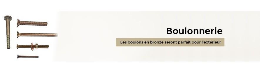 Visserie à métaux en bronze pour boulonnage